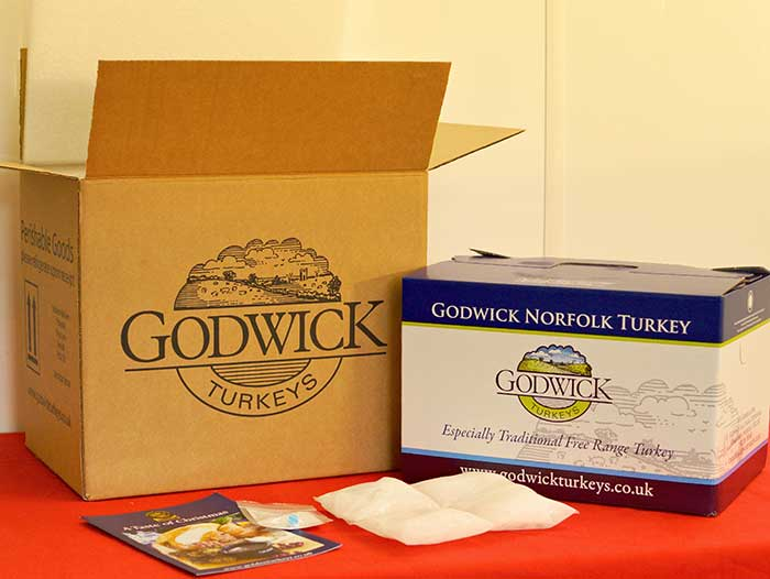 Godwick Turkeys Delivery Box