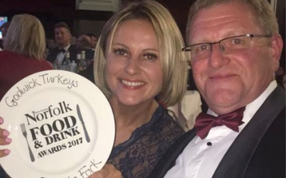 Winning Award of Norfolk Food and Drink Award 2017