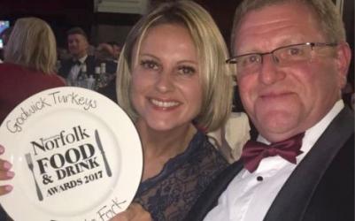 Winning Award of Norfolk Food and Drink Award 2017