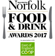 Norfolk Food and Drink Awards 2017 logo