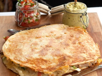 Mexican Turkey Quesadilla