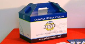 Your Free Range Godwick Turkeys